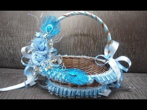 Indian Wedding Basket Decoration Youtube