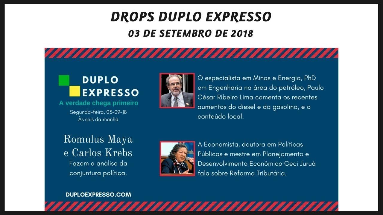 Drops Duplo Expresso 3set2018 Youtube