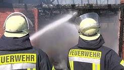 Scheunenbrand in Hamminkeln Wertherbruch