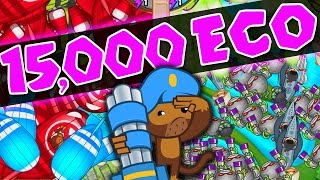 Bloons TD Battles :: 15,000 ECO :: LATE GAME WITH FANS Pt. 2 BTD Battles