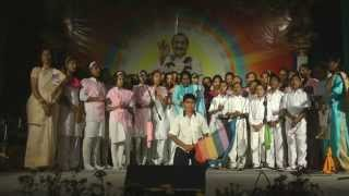 Meher English School performs at Avatar Meher Baba