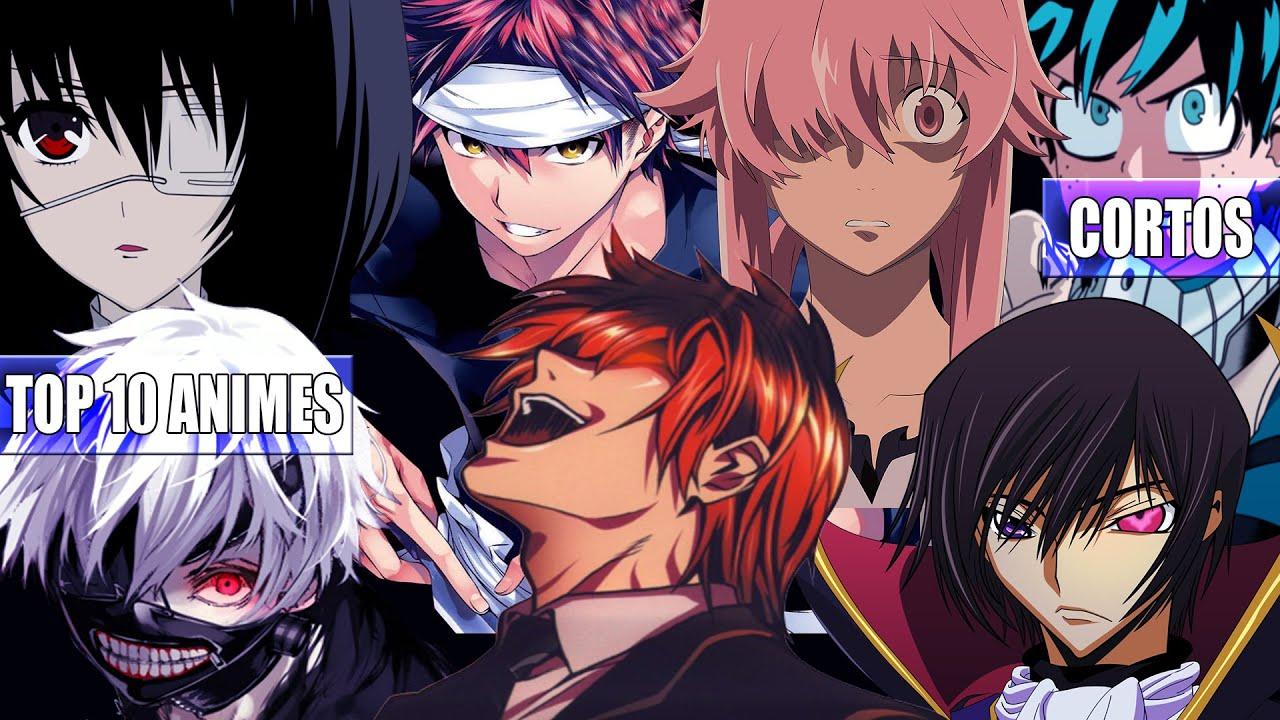 TOP 10 Los Mejores Animes Cortos YouTube