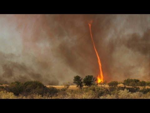 Bizarre Fires All Over the World ***Fire Tornados ***Ball Lightning