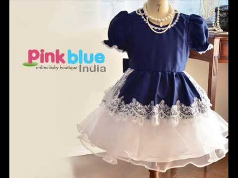 2faa2495f5f5 Partywear Dresses for Baby Girls in India - YouTube