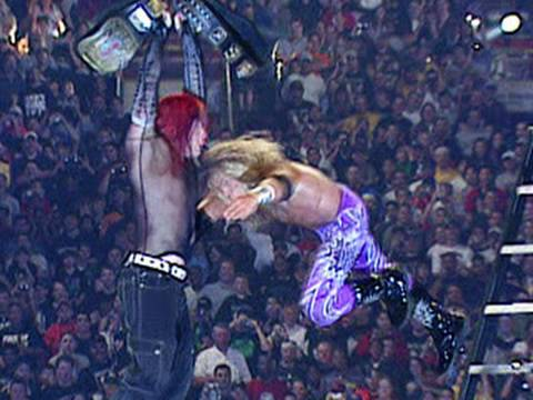 Edge Spears Jeff Hardy - WrestleMania...