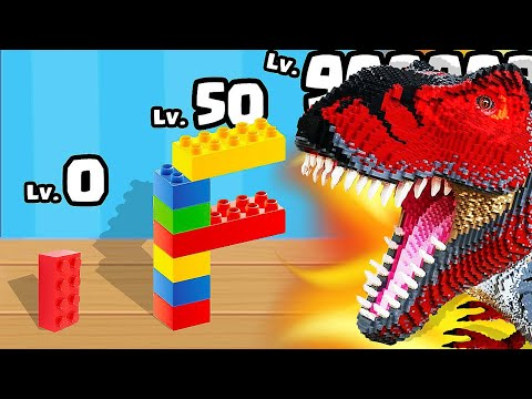 BUILDING with MAX LEVEL LEGO in Construction Set (Lego Set)