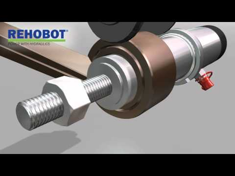 REHOBOT Hydraulics - Bushing tool kit, Heavy vehicle