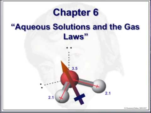 Chemistry & Society - Chapter 6 - Solutions and the Gas Laws