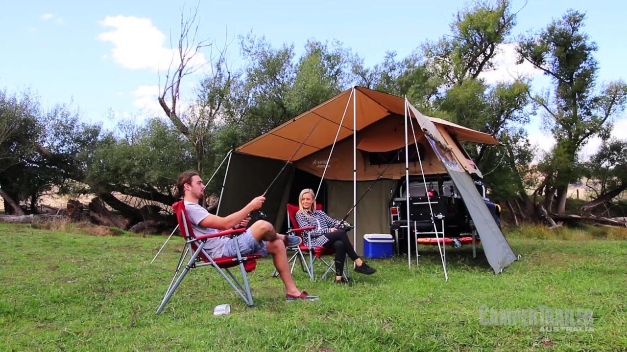 Stockman Roof top C&er & Stockman Roof top Camper - YouTube