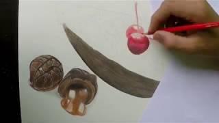 Desenhando um ovo de páscoa-drawing an easter egg
