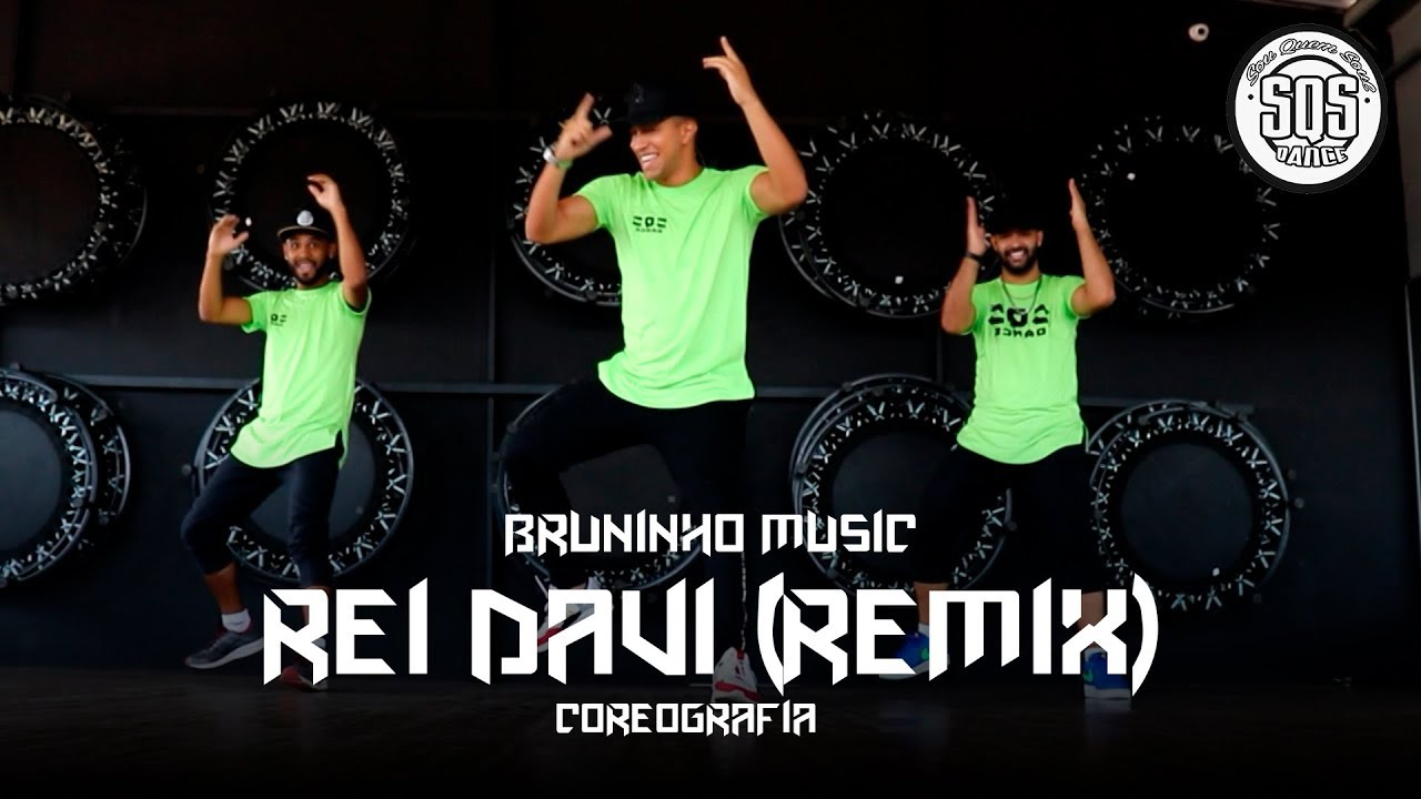 Bruninho Music - Rei Davi (REMIX) | SQS Dance (Coreografia Funk Gospel)