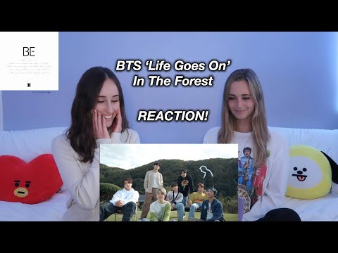 BTS (방탄소년단) 'Life Goes On' Official MV : in the forest REACTION!
