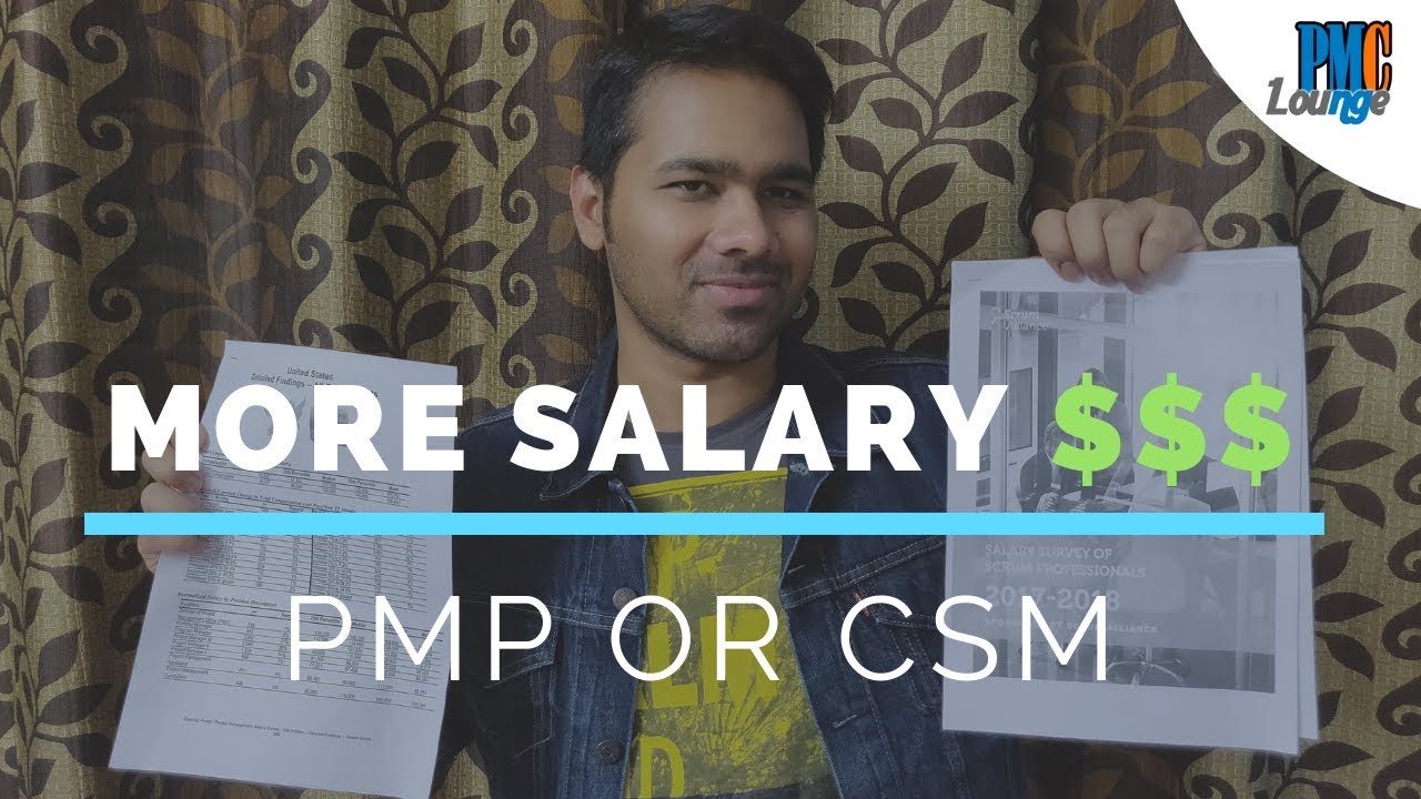 PMP vs CSM   Which certification offers better salaries
