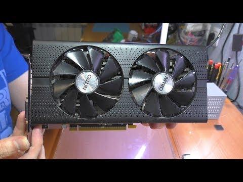 Нет изображения / Не запускается видеокарта Sapphire AMD Radeon RX 470 NITRO+