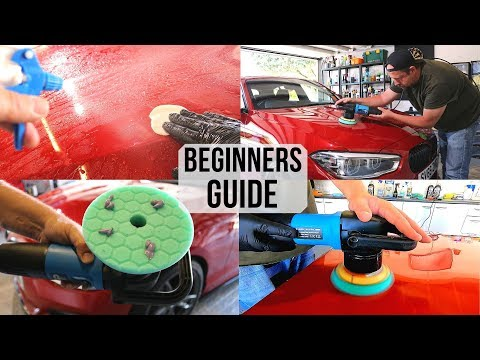 How To Polish A Car For Beginners - Paint Correction Guide for first timers