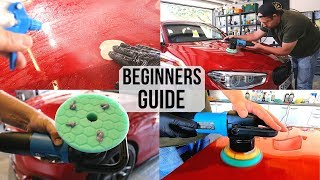 How To Polish A Cąr For Beginners - Paint Correction Guide for first timers