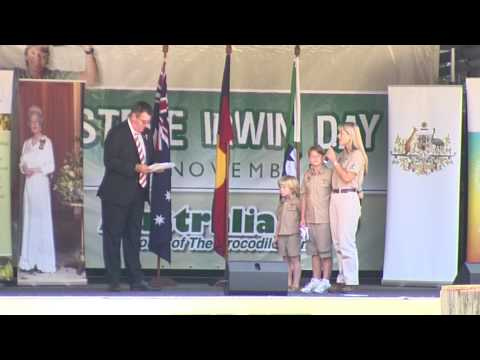 Terri Irwin Citizenship Ceremony