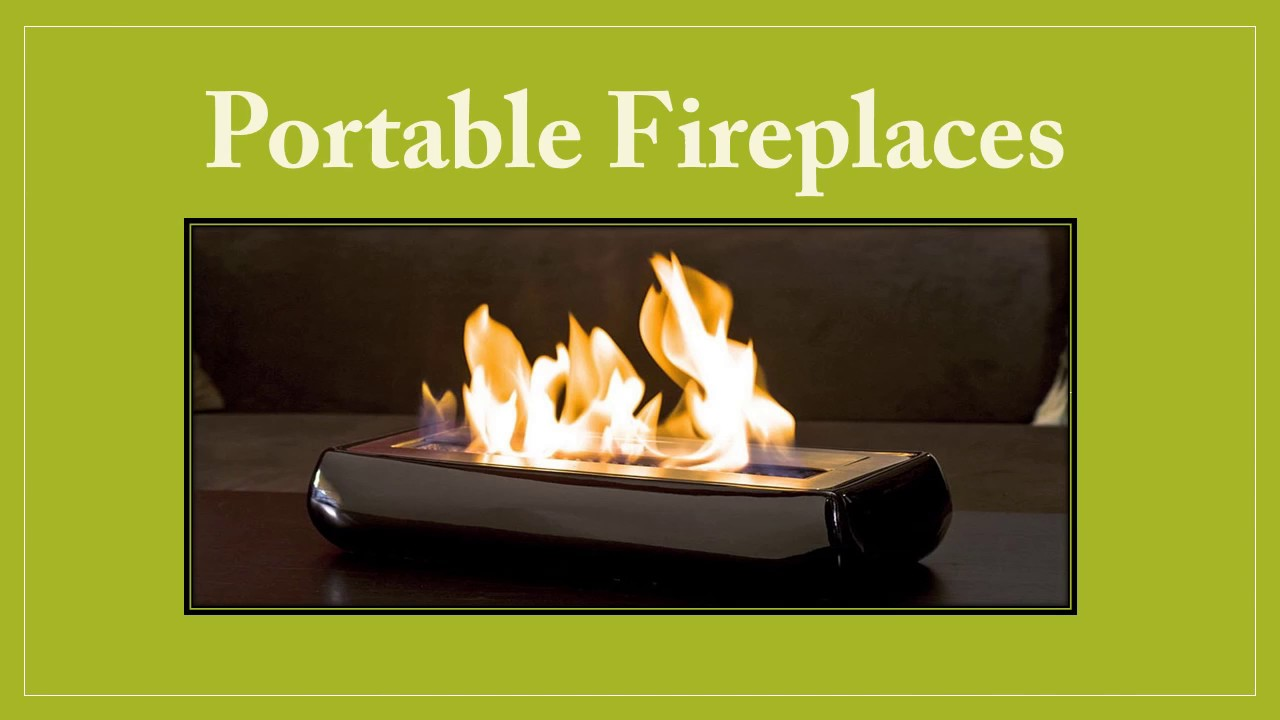 Portable Fireplaces   YouTube