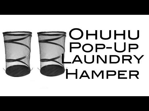 Ohuhu Pop-Up Laundry Hampers