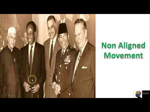World History - Non Aligned Movement