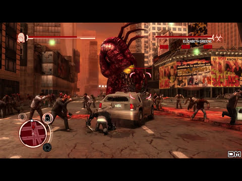 Prototype Remastered Elizabeth Greene Boss Fight HD 60FPS 1080p