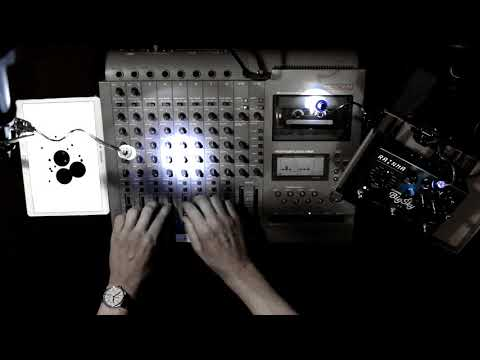 TAPE LOOP A - Tascam 488 Live Ambient Cosmic Music