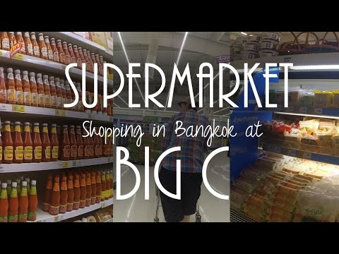 Supermarket Shopping at Big C with prices! - Day 4 (Video #16)