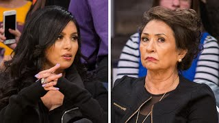 Vanessa bryant claims her mother, sofia laine, is trying to 'extort a financial windfall' from family, following the death of husband, kobe bryant, a...