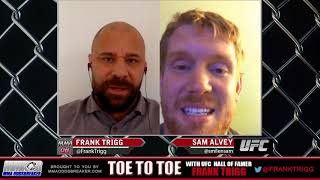 Frank Trigg post-fight interview with UFC Gdansk's Sam Alvey