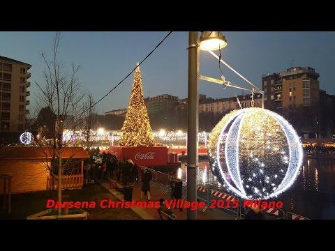Darsena Christmas Village Navigli Milano Natale 2015