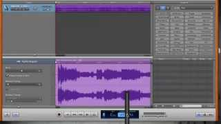Mac - How to speed up or slow down song in Garageband