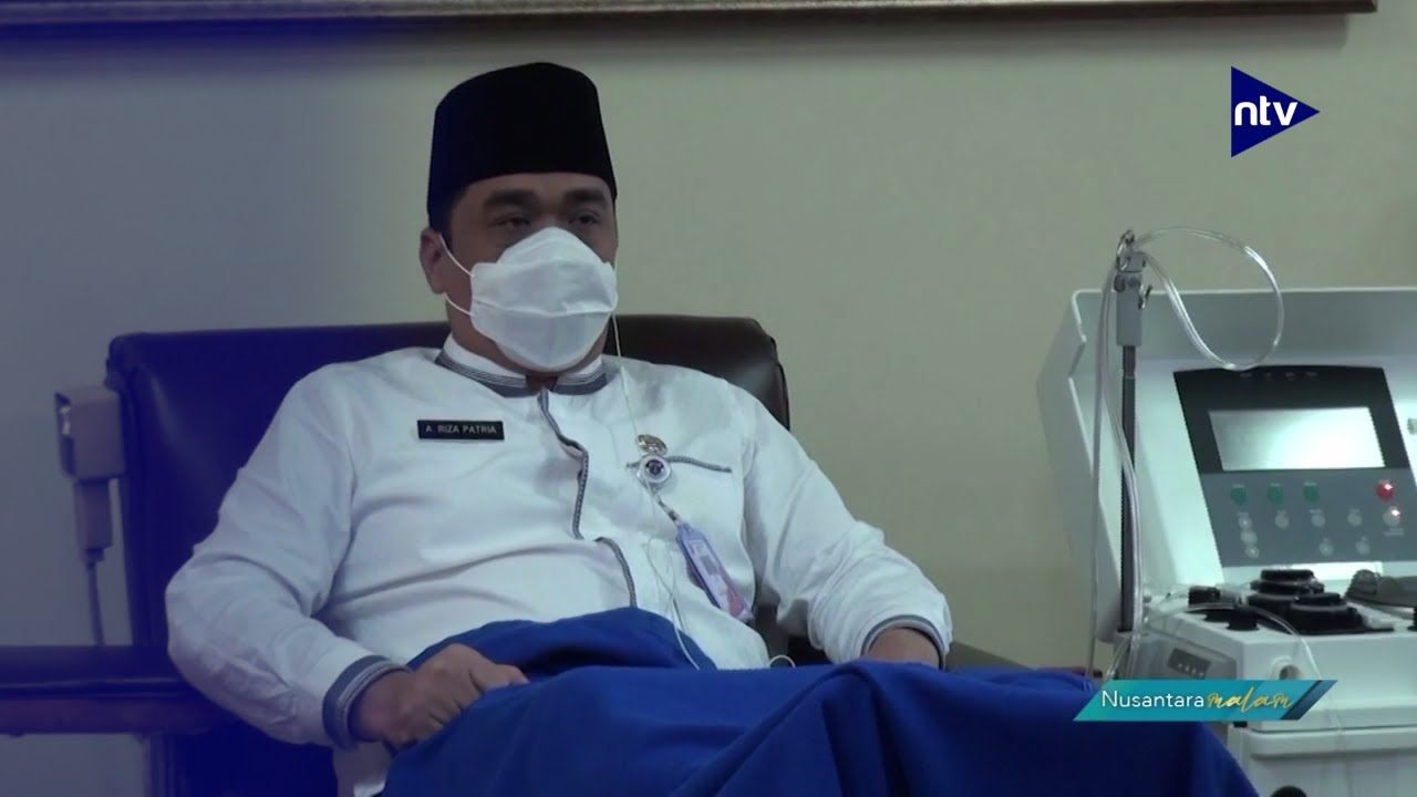Wagub DKI Jakarta Donor Plasma Konvalesen