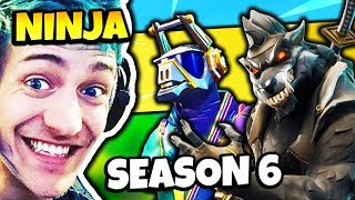 NINJA REACTS TO DJ YONDER SKIN AND DIRE SKIN (LLAMA & WOLF) | Fortnite Daily Funny Moments Ep.209