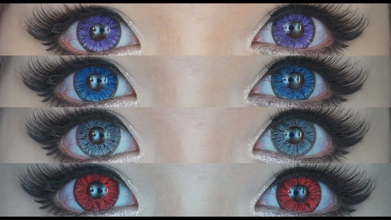 Super Pinky Series Circle Lens Review Amp Demo All 9 Colors