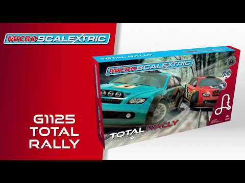 Scalextric | Micro Scalextric Total Rally Set – G1125
