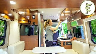Trying out a Crazy $100K Camper Van - Full Tour