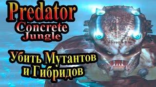 Прохождение Хищник Бетонные Джунгли (Predator Concrete Jungle) - часть 9 - Убить Мутантов и Гибридов