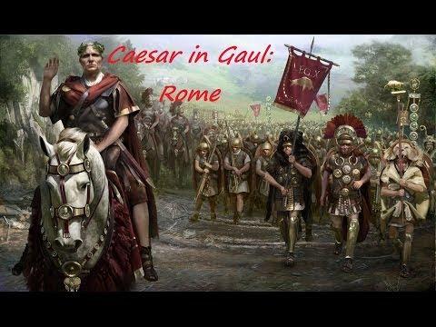 """Rome 2 Caesar In Gaul Rome pt 20 """"Lutetia"""""""