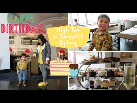 High Tea In Swissotel Sydney - My Birthday Vlog
