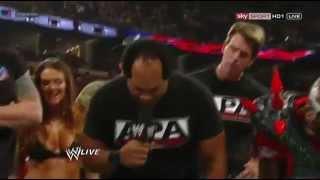 Lita vs. Heath Slater - WWE Raw 7-23-12 1000th Episode ( A.P.A. Returns )