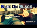 HowToPlay: Blue On Black - Kenny Wayne Shepherd