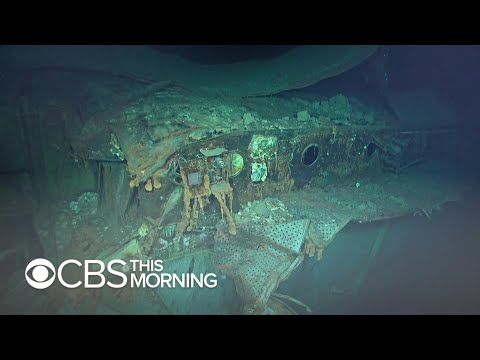 Wreckage of WWII aircraft carrier USS Hornet discovered in expedition
