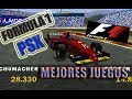 FORMULA 1: TOP 5 BEST GAMES OF PSX !!!!!!!.....(PS1) 60 FPS