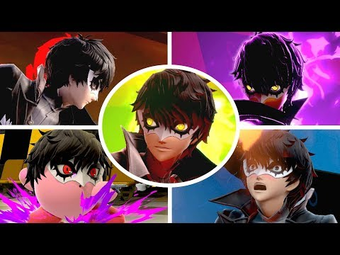 Joker All Victory Poses, Final Smash, Kirby Hat & Palutena Guidance in Smash Bros Ultimate thumbnail