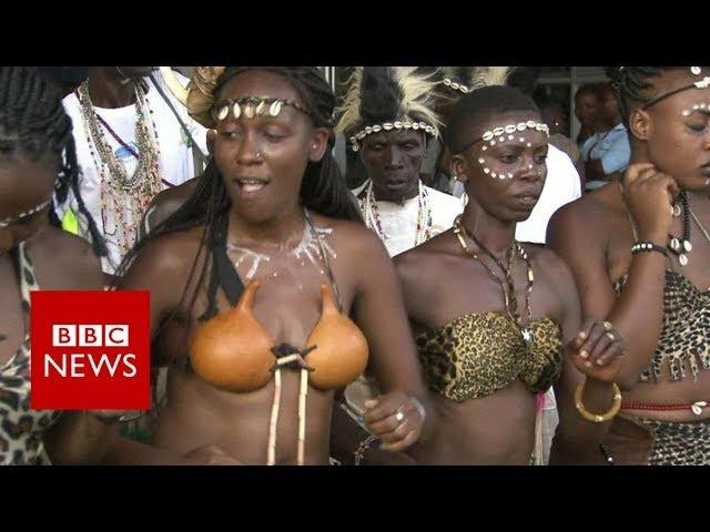 Black Panther premieres in Kenya - BBC News