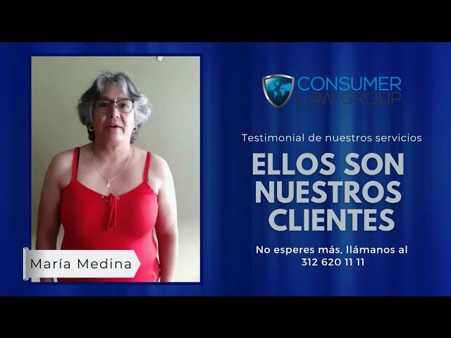 Estos son nuestros clientes: Testimonial María Medina
