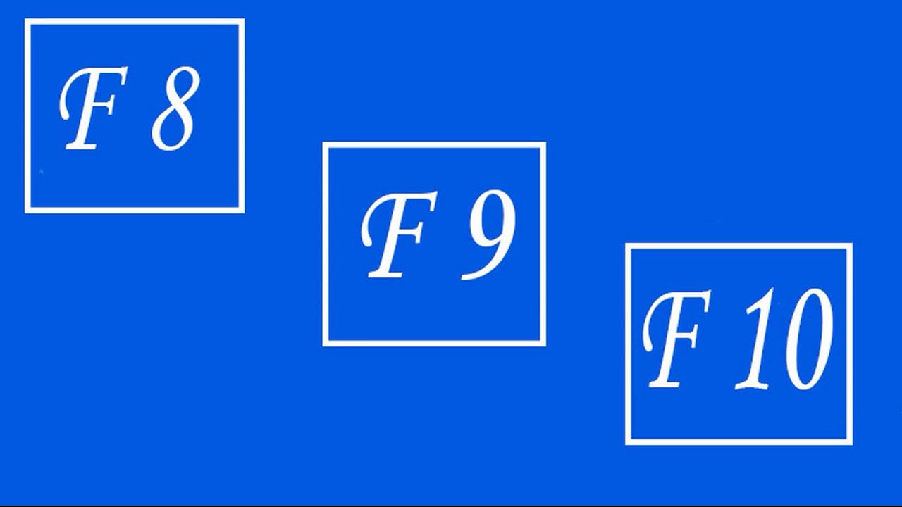Назначение клавиш F1-  F12 в стандартной клавиатуре