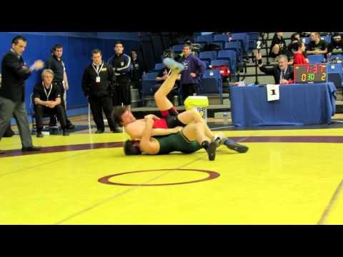 CIS Championships 2012: 76 kg Adam Gordon vs. Connor Malloy