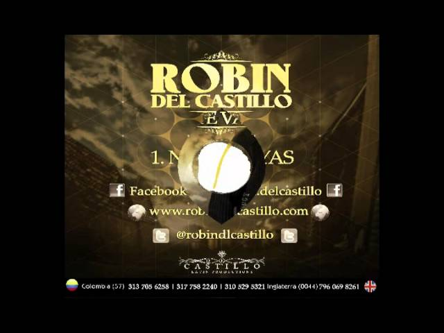 """Robin Del Castillo - """"No Te Vayas """"-Album-(Sin Limites)"""