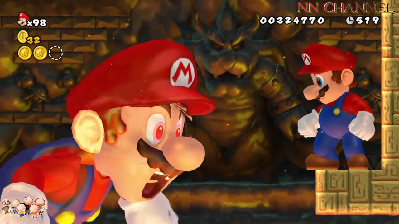 NN Channel Mario khổng lồ giải cứu công chúa